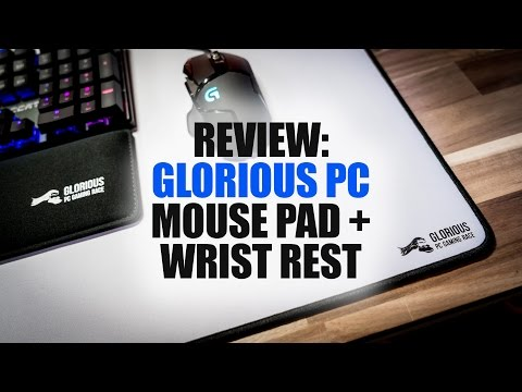 621331dc294 Review: Glorious PC Gaming Race Mouse Pad and Wrist Rest - YouTube