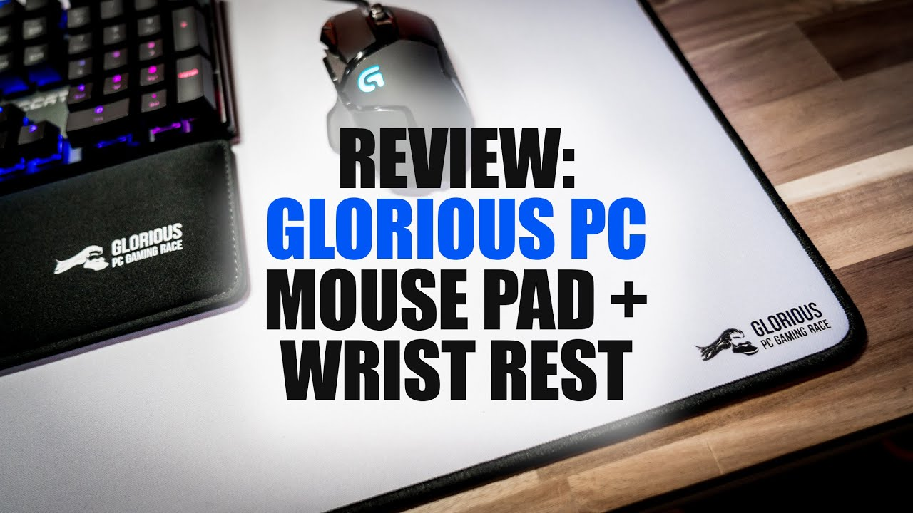review glorious pc gaming race mouse pad and wrist rest youtube