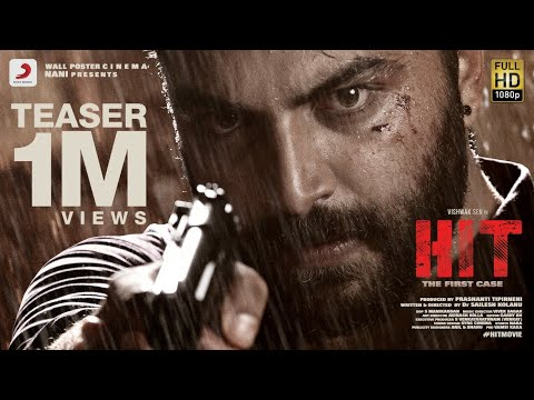 HIT Movie Teaser Telugu | Vishwak Sen, Ruhani Sharma | Nani | Sailesh Kolanu
