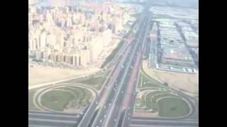 Landing on the Kuwait International Airport