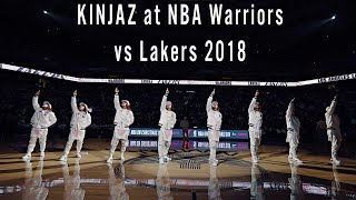 Kinjaz At Nba Warriors Vs Lakers 2018