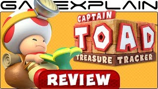 Captain Toad: Treasure Tracker - REVIEW (Nintendo Switch + Mario Odyssey Levels) (Video Game Video Review)