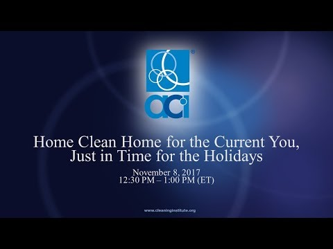 Home, Clean Home for the Holidays