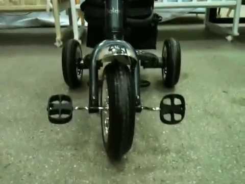 Велосипед с ручкой Jetem Lexus Trike