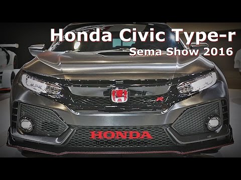 Civic Type-R - SURPRISE APPEARANCE AT SEMA SHOW 2016 - fvm