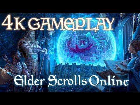 Elder Scrolls Online 4K Gameplay 2019 - New Player in Summerset [NO COMMENTARY]