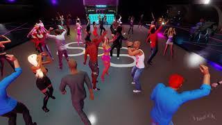3DXChat SOS night club. DJ xBackFirex