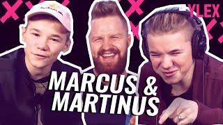 REACTING TO FINNISH MUSIC FT. Marcus & Martinus
