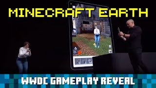 Minecraft Earth: Apple WWDC Gameplay Reveal