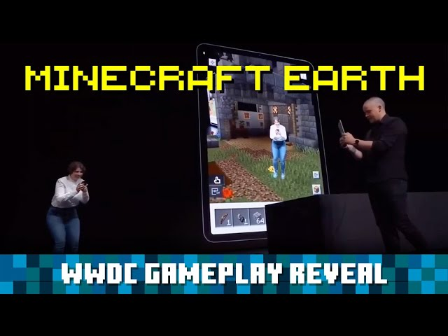 First Minecraft Earth Gameplay Revealed, Uses ARKit 3 Body