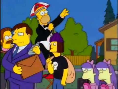 Los Simpsons - Hey don gaston! Cinco Si!