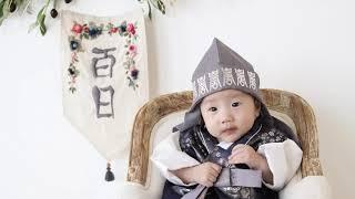 백일 사진 촬영한 111일의 승유 :)
