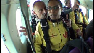 My first jump - Skydive Spa