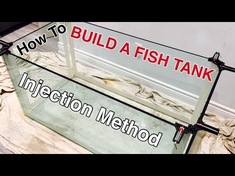 HOW TO BUILD A GLASS AQUARIUM - 120G reef tank build PART 3