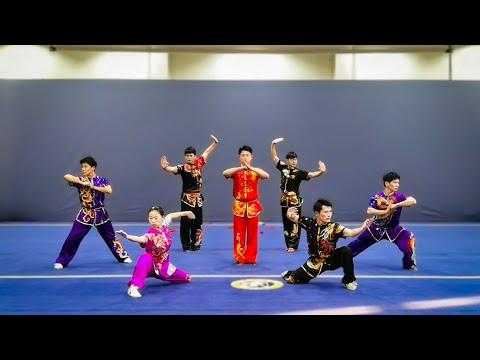[2020] Beijing Sports University  - Group Set - China National Wushu Taolu Competition