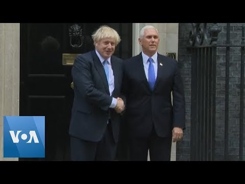 Morgen - British PM Welcomes US VP Mike Pence to Downing St.