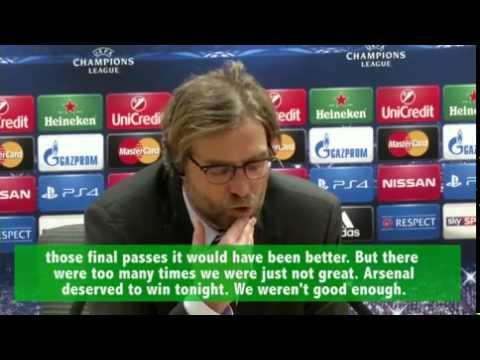 Jurgen Klopp: We weren't courageous...
