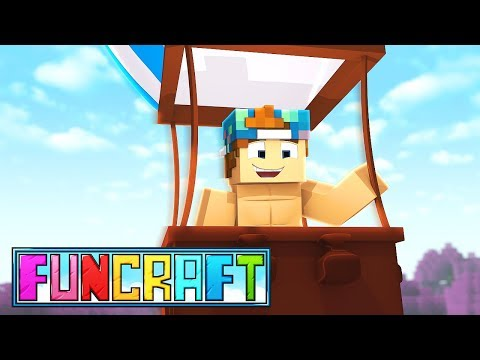 HIT AIR BALLOON ADVENTURE! | FunCraft #5