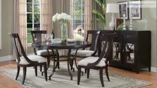 Plaza Square Round Dining Room Collection From Pulaski Furniture