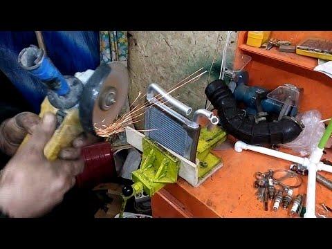 Часть 2. Не греет печка. лада гранта .замена радиатора печки без снятия панели.