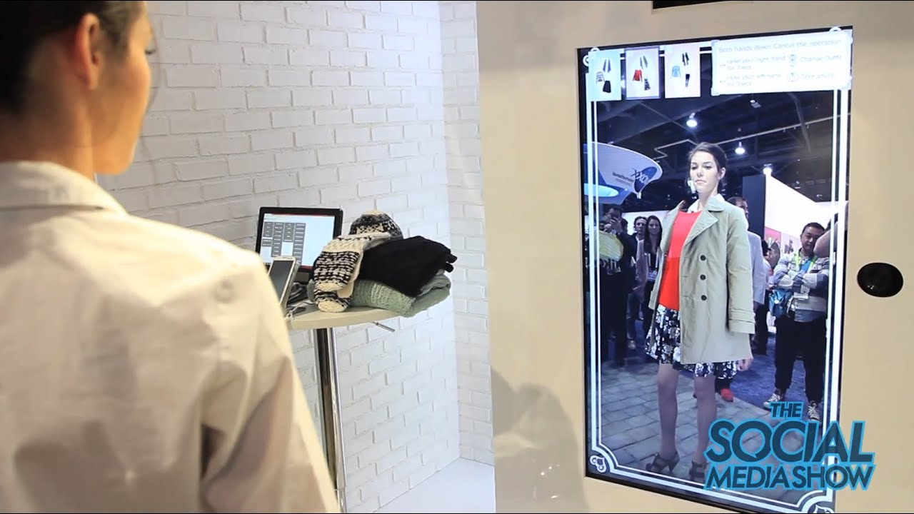 Ces 2015 Virtual Fitting Solution Toshiba The Social