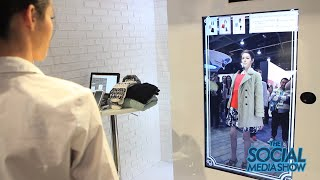 CES 2015 - Virtual Fitting Solution Toshiba - The Social Media Show
