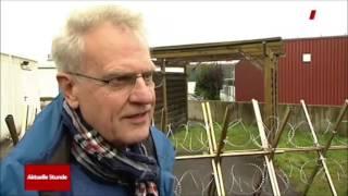 Unternehmer stellt NATO-Draht gegen Flüchtlinge auf