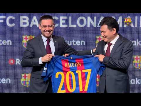 Rakuten sign up as FC Barcelona's new main global partner