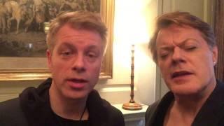 Michael Mittermeier + Eddie Izzard with COMEDY SANS FRONTIERES Clip 7