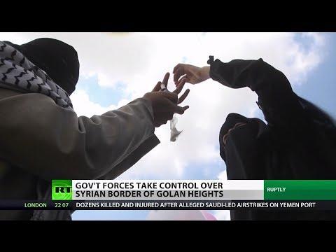 Syria: Golan Heights Border Under Gov't Control
