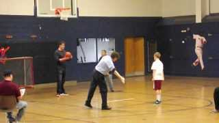 brendan mcnamara 15 straight free throws in elks hoop shoot 10 11 year old district finals 2014