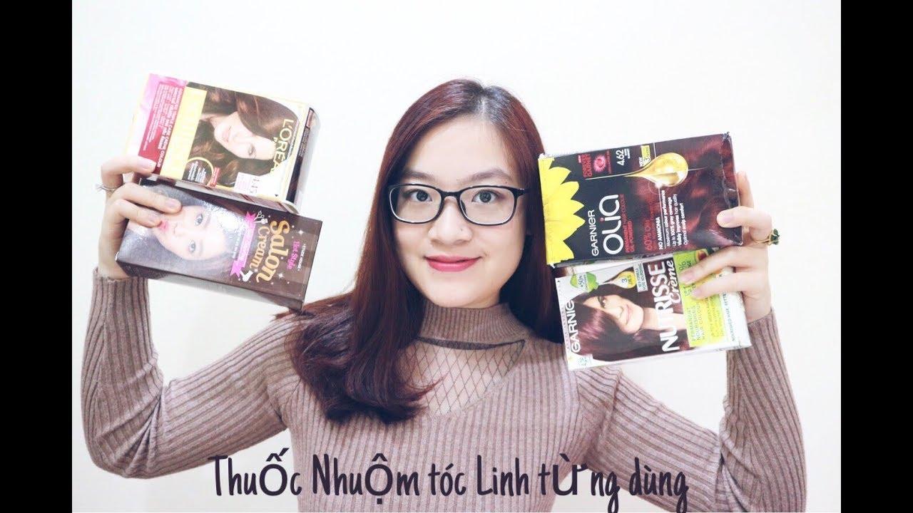 #HAIRCARE Review Thuốc Nhuộm Tóc Linh từng dùng