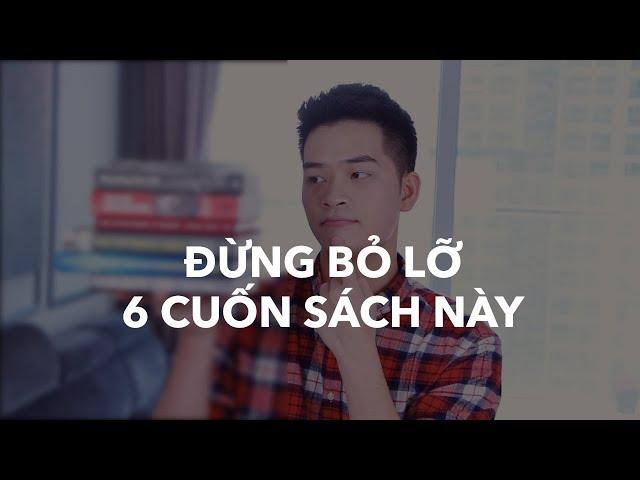 [Trong Duc] ĐỪNG BỎ LỠ 6 CUỐN SÁCH NÀY!