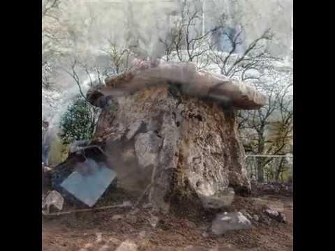 Prehistoric stone graves-Danilovcity of Montenegro