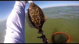 Flounder fishing (Seawolf Park) GoPro Hero3+ 720p HD