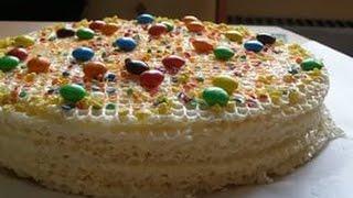 Мастер-класс!Вафельный торт!