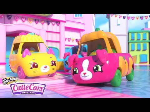 SHOPKINS CUTIE CARS | Ride it Out SONG | Videos For Kids