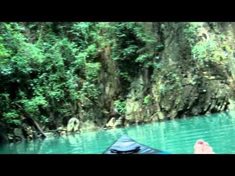 Kayaking around James Bond island