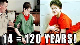 KIDS Who Served Crazy PRISON Sentences