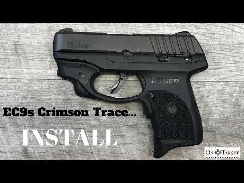 RUGER EC9S CRIMSON TRACE INSTALL