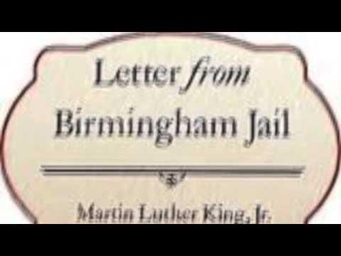 Letter From Birmingham Jail Audio
