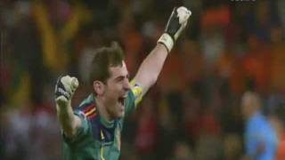 SPAIN NATIONAL FOOTBALL TEAM 2010 WORLD CHAMPIONS TRIBUTE