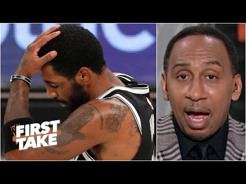 Kyrie Irving runs the risk of the Nets voiding his contract - Stephen A. | First Take