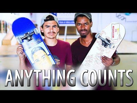 EVERYTHING COUNTS SKATE! Nigel vs Carlos