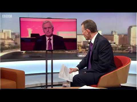 John McDonnell on the Marr Show 11/03/18