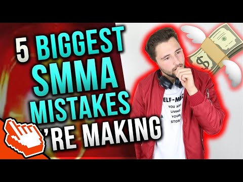 5 Biggest Mistakes Social Media Marketing Agency Owners Make *IMPORTANT!*