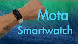 The Mota Smart Watch for iPhone and Android, The best Smart Watch?