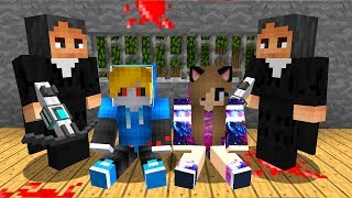 Встреча с охотниками на Вампира в Майнкрафт - Сериал про вампиров! Мод Видео c Девушкой MINECRAFT