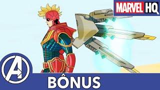 Força Mech l Arquivo de Capitã Marvel