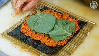 고추장김밥이 아주 유명한 곳 | Famous Red P…